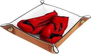 Vockgeng Gants de Boxe Boîte de Rangement Panier Organisateur de Bureau Plateau décoratif approprié pour Bureau à Domicile...