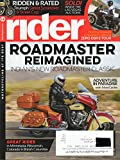 Rider Magazine 2017 Motorcycling At It's Best RIDDEN & RATED: TRIUMPH STREET SCRAMBLER & STREET CUP Great Rides In Minnesota, Wisconsin, Colorado & British Columbia
