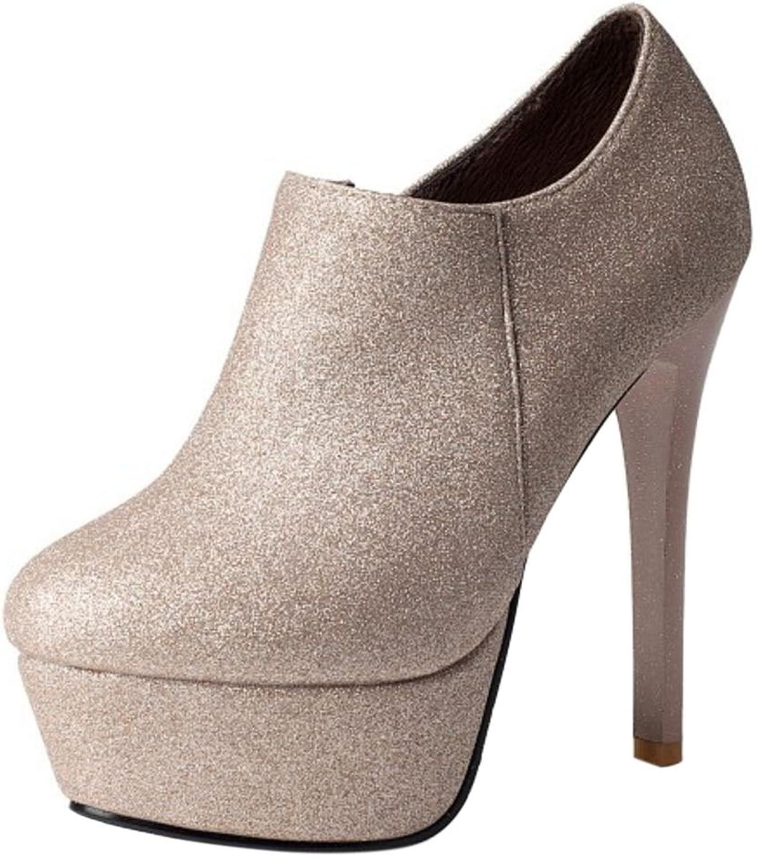KemeKiss Women Fashion Stiletto Booties