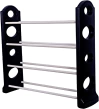 KPM™ 4 Layer Multipurpose Portable Folding Shoes Rack/Shoes Shelf/Shoes Cabinet,Easy Installation Stand for Shoes(Shoes Rack)(Flexible Shoes Rack,Shoes Racks for Home) 4 Layer Strong Boot Rack.