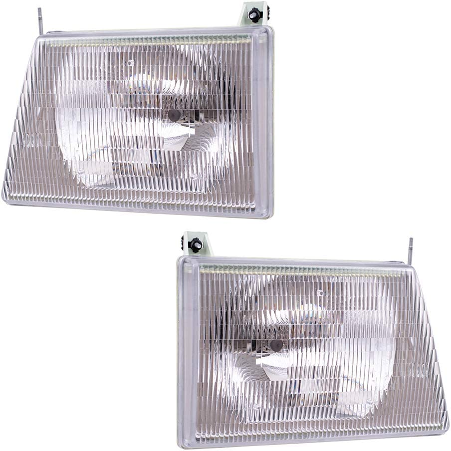 Brock Replacement Lowest price challenge Driver and Composite Head low-pricing Passenger Headlights