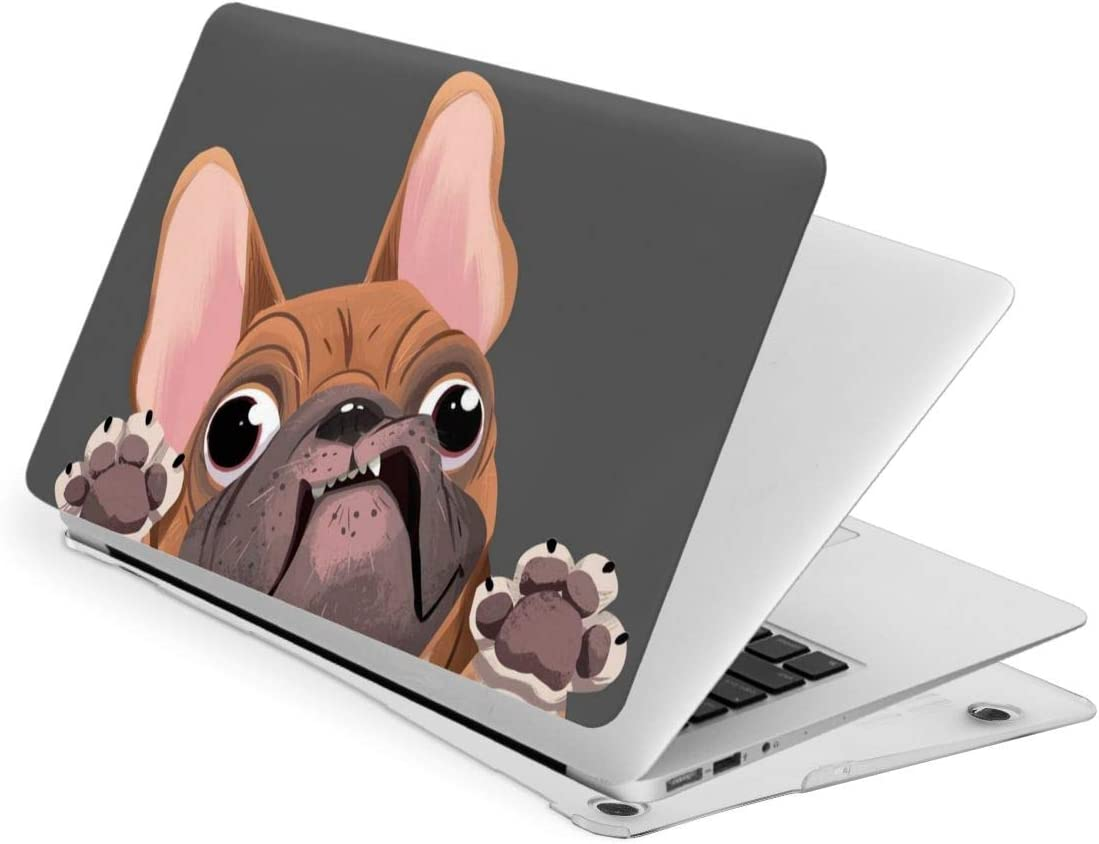 Cartoon French Bulldog Compatible with Inch Pro Case Excellent 13 Product MacBook