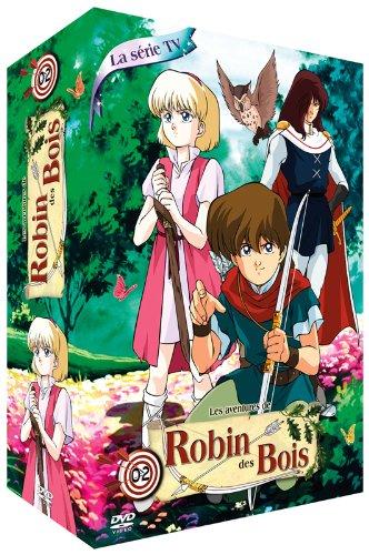 Les Aventures de Robin des Bois-Partie 2-Coffret 4 DVD-La Série