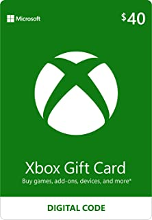 Best $40 Xbox Gift Card [Digital Code] Review