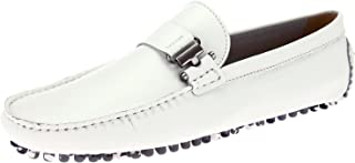 Men's Leather Driving Shoe Mario Slip-On Loafer