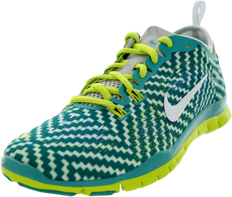 Nike Free 5.0 TR Fit 4 Damen US 6.5 Grün Laufschuh EU 37,5