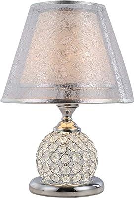 Amazon.com: Lámpara de mesa de cristal, barra de café ...