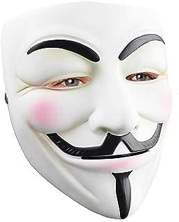Hacker Mask for Costume Kids - V for Vendetta Mask Anonymous Guy Masks for Halloween