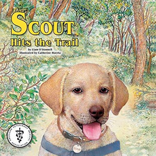 Scout Hits the Trail audiobook cover art