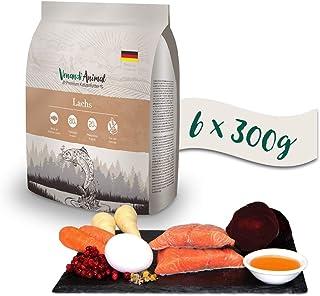 Venandi Animal - pienso seco para Gatos - Salmón como pienso seco - Completamente Libre de Cereales - 6 x 300 g