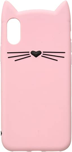 Kate Spade New York - Silicone Cat Phone Case for iPhone® X