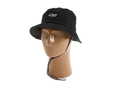 Outdoor Research Lightstorm Bucket (Black) Safari Hats