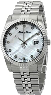 Mathey-Tissot Rolly II Crystal Mother of Pearl Dial Men's Watch H710AI