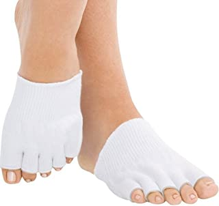 AAATS Toes Alignment Socks Yoga GYM Massage Five Toe Separator Spacer Foot Feet Pain Relief Stretch Tendon Pain Relief