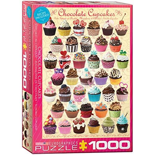 EuroGraphics Puzzle Schokoladen Cupcakes
