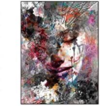 BoLian Oil Painting Modern Art Painted Women on Canvas Stretched Ready to Hang Wall Decoration