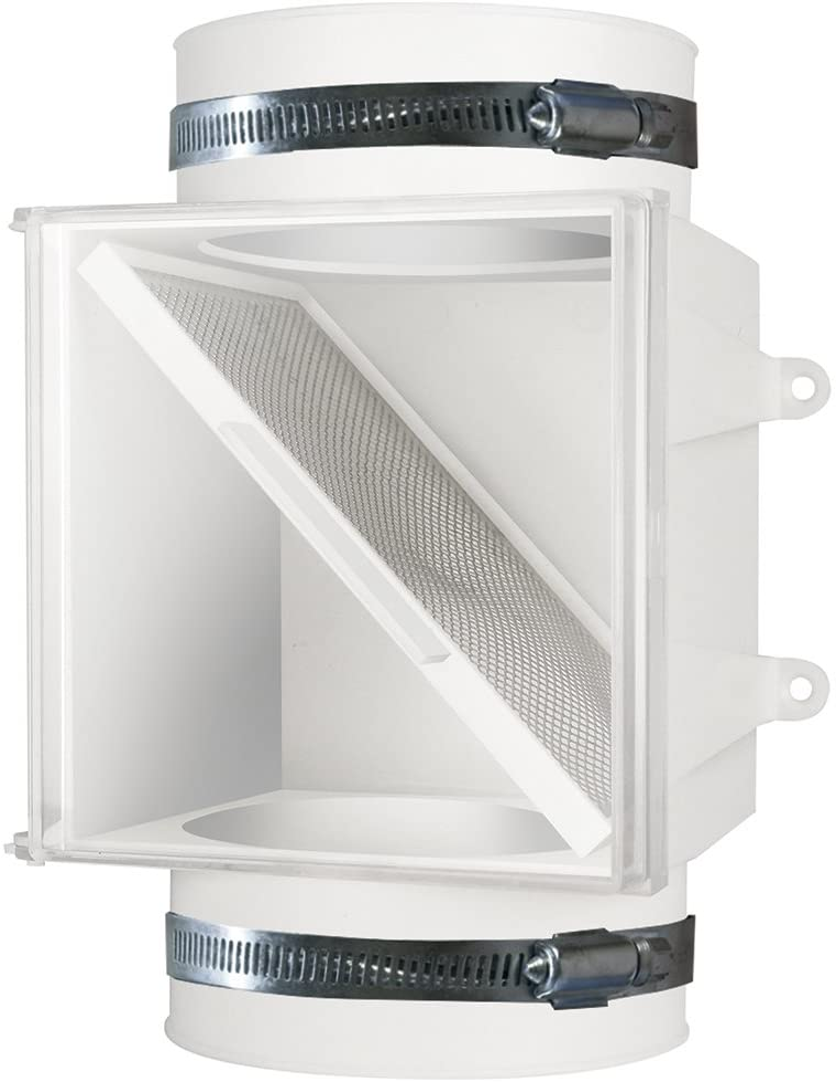 Dundas Jafine PCLT4WZW Dryer 1-Pack Time sale Trap Lint Duct OFFer