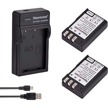 Newmowa EN-EL9 EN-EL9A Batteria (confezione da 2) e Portable Micro USB Caricatore kit per Nikon D3000, D5000, D40, D60, D40X