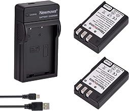 Newmowa EN-EL9 EN-EL9A Batería (2-Pack) y Kit Cargador Micro USB portátil para Nikon D3000, D5000, D40, D60, D40X