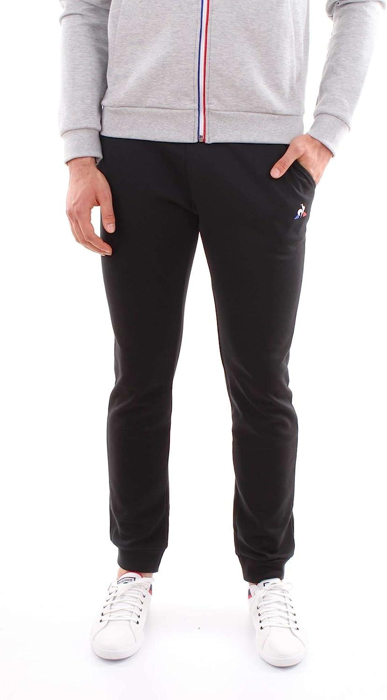 Le Coq Sportif ESS Pant Slim n°1 M Dress schwarz, Sporthose