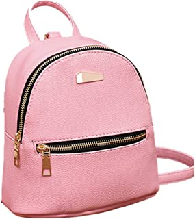 Liraly Women Leather Backpack School Rucksack College Shoulder Satchel Travel Mini Fashion Bag