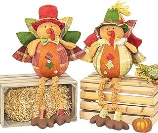 Hanna's Handiworks Thanksgiving Banquet Turkey Dangle Leg 2 ASST (49233)