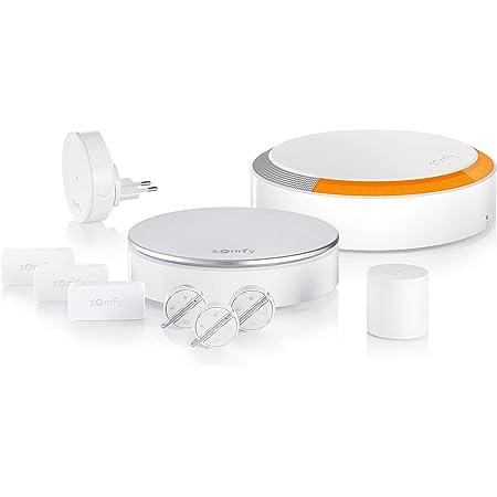 Somfy 1875230 - Home Alarm Plus , Alarma para casa , Sistema inalámbrico anti robo con sirena exterior , Compatible con Alexa, Google Asistant y TaHoma