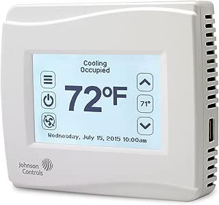 Johnson Controls TEC3610-00-000 Thermostat, 9 in, 4 Out, No Sensor/Dehum