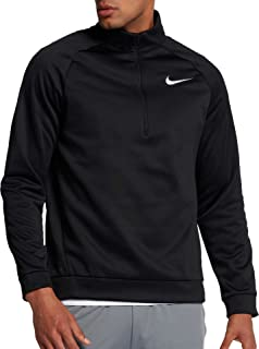 Heather Mens Therma Quarter Zip Pullover Sweater