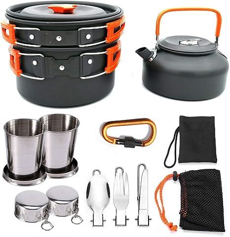 YXYLD Kit De Utensilios Cocina, con Soporte De Estufa De Gas ...
