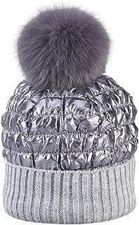 Iusun Women Winter Beanie Earmuffs Hat Collar Set Thick Warm Skull Slouch Stretch Cycling Baseball Foxes Ball Cap