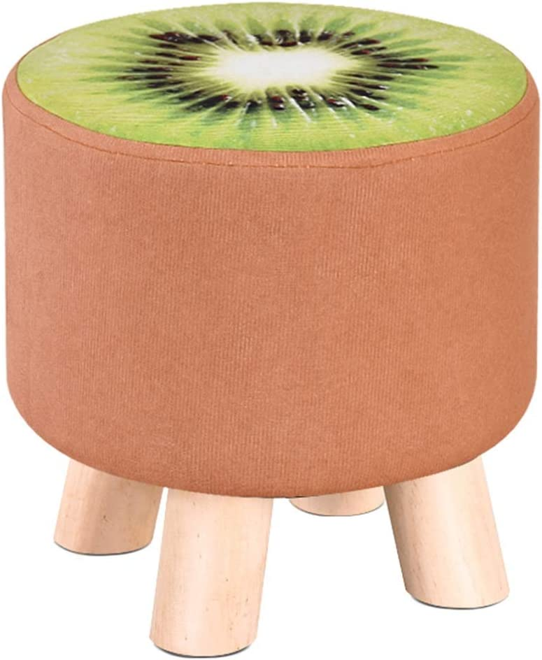 BYPING Attention brand Pouffes and Stool Upholstered Filling Footstools Sponge C Las Vegas Mall