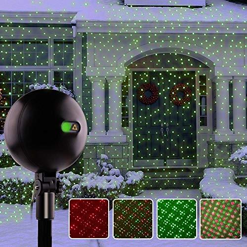Christmas Lights, Laser Lights, Christmas Projector Lights Landscape Spotlights Waterproof Outdoor...