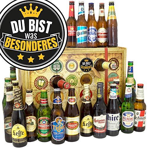 Du bist was Besonderes / 2019 Bier Adventskalender / 24x Biere der Welt