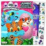 Hatchimals Coloring Book Activity Stickers Set with Hatchimals Stickers Bundled with Separately Licensed Specialty Castle Doorhanger