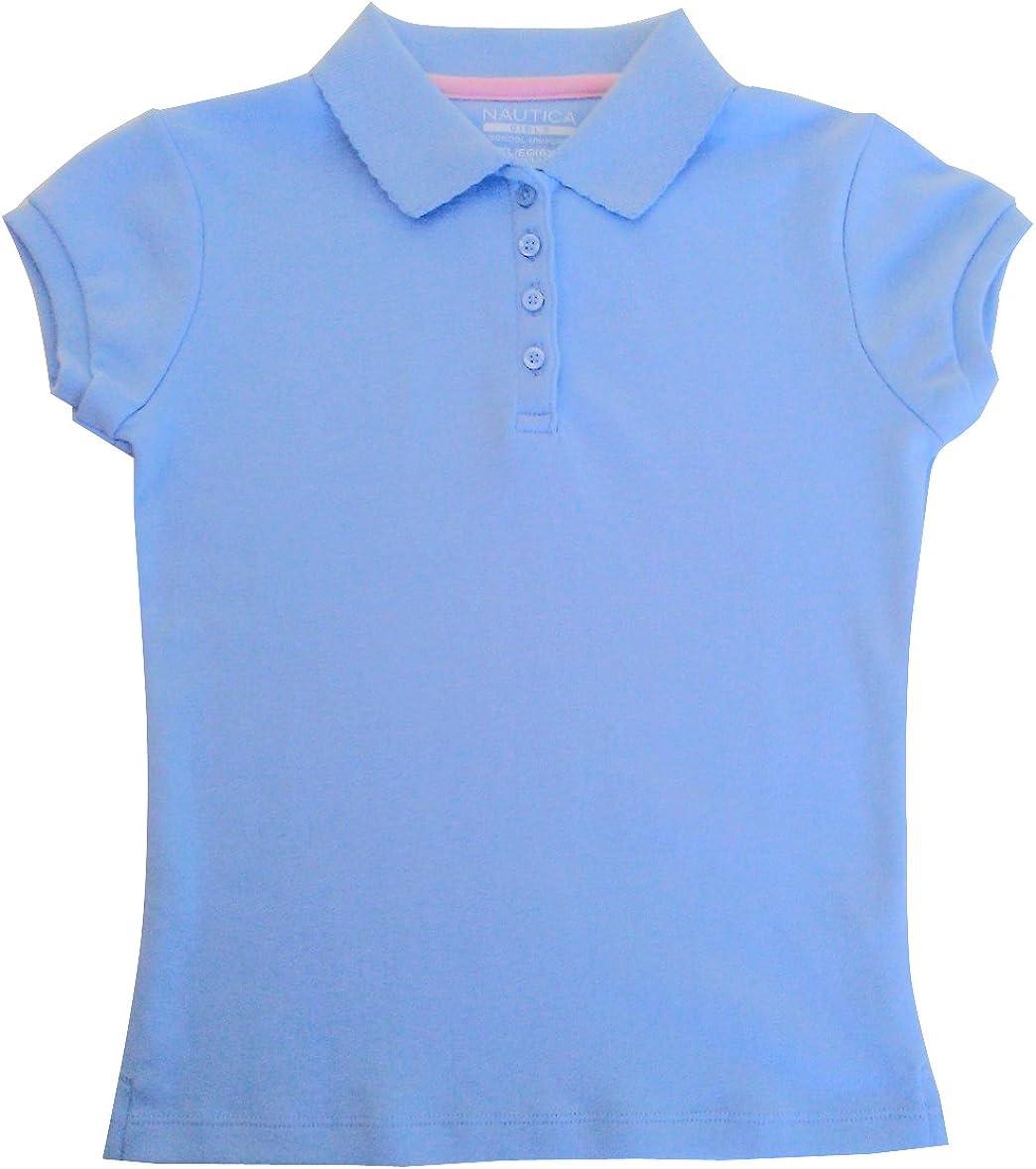 Nautica Kids Little Girls Size Unifo Blue Dedication Light Shirt Award-winning store 6X