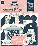 """Ephemera includes 33 shapes. Country of origin: United States Color Name: navy, pink, coral, cream, teal, gold Product Dimension: 4.0""""L x 6.5""""W x 0.25""""H"""