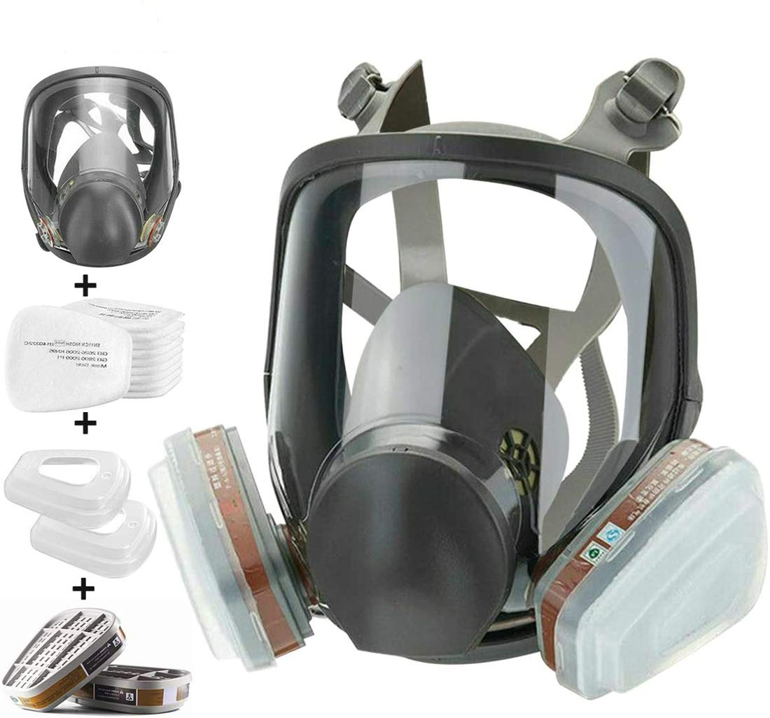 Reusable Full Ranking TOP6 It is very popular Face Respirator Mask Reusab with Filters Silicone