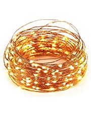 LTETTES 15 Meters 150 LED USB Powered Waterproof Outdoor Indoor Copper Wire Fairy Decorative String Lights for Diwali Christmas Wedding Home Bedroom Decoration (Pack of 1)