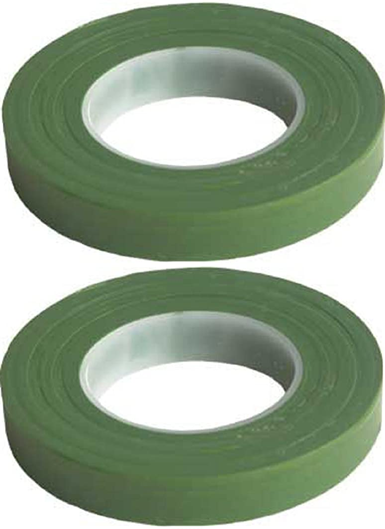 2 Pack Green Floral Tape Stem Wrap 1/2