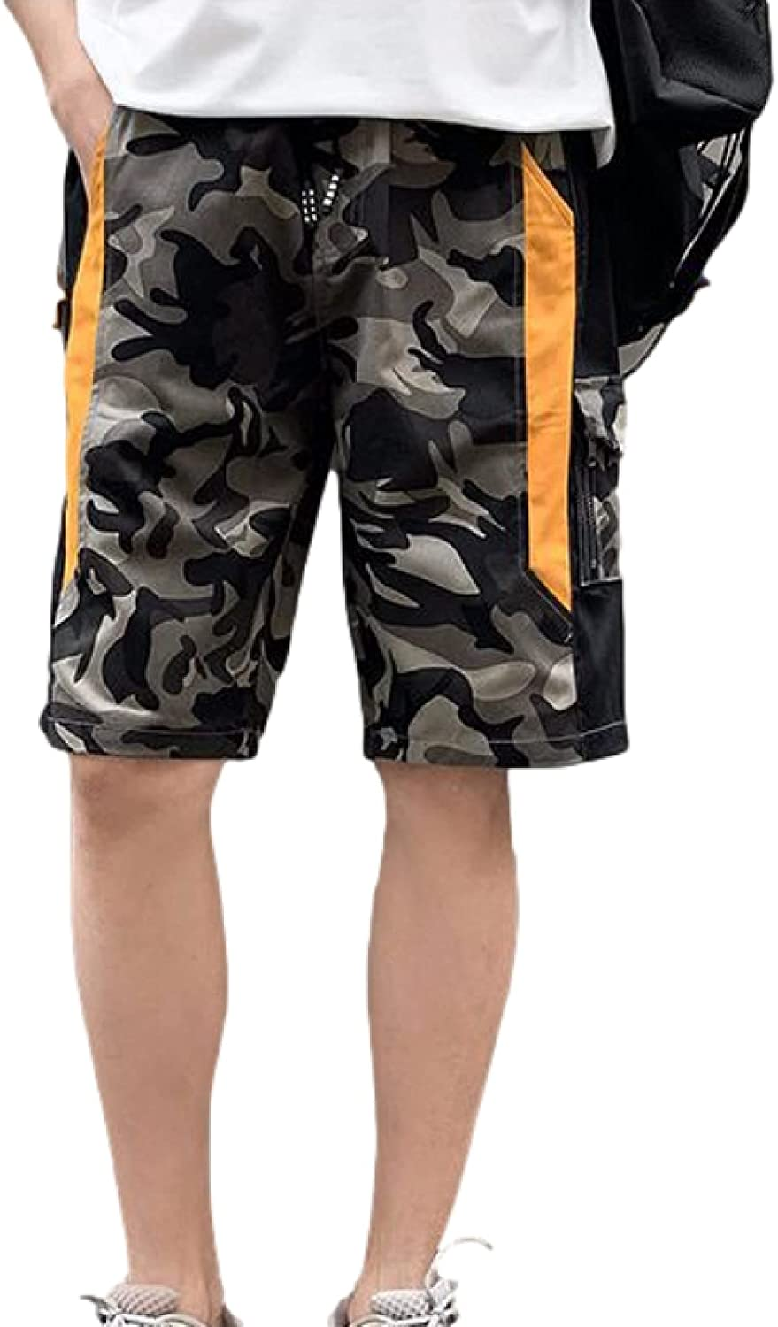 Segindy Men's In stock Casual Large Size Camou Shorts Trend Cargo NEW Fashion