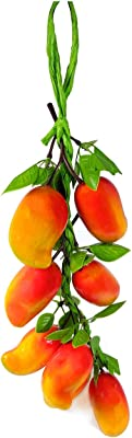 Reiki Crystal Products Artificial Mango (Multicolour, 1 Piece)