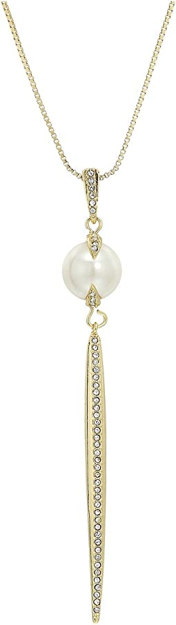 "Vince Camuto 28"" Pearl Pendant"