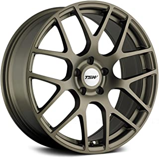 TSW NURBURGRING Bronze Wheel with Painted Finish (18 x 8. inches /5 x 112 mm, 45 mm Offset)