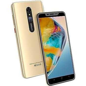 Moviles Libres 4G, 16GB ROM Android 9.0 Pie 5MP+8MP, 4800mAh 5.5 Pulgadas Smartphone Libre Dual SIM, Quad Core Face ID por Huella Digital Moviles Buenos (2 x Micro SIM +1 MicroSD): Amazon.es: Electrónica