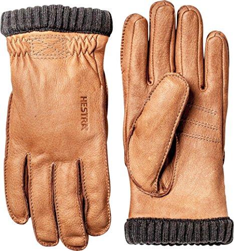 Hestra Deerskin Primaloft Rib Gloves Cork