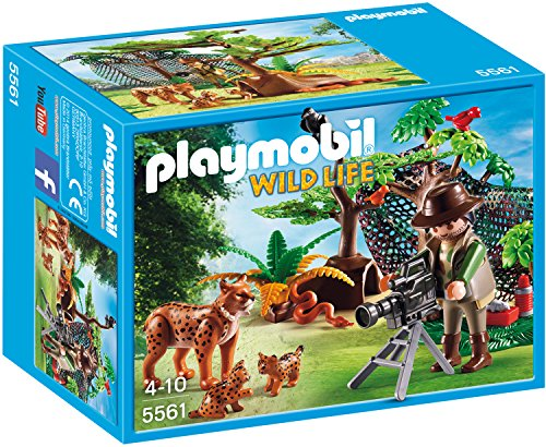 Playmobil 5561 - Luchsfamilie mit Tierfilmer