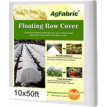 8x100 0.9 oz PHI VILLA Frost Blanket Plant Cover Floating Row Cover