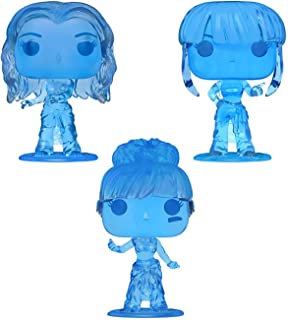 Funko Pop! Rocks TLC Set of 3 Chase: Chilli, T-Boz and Left Eye - Translucent Blue Ice Figures