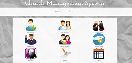 Church Membership and Presentation Maker Software; All in One Church Management Software; Church Facilities, Office, Bookkeeping and Finances Administration Software; 5 User License (WINDOWS AND MAC)